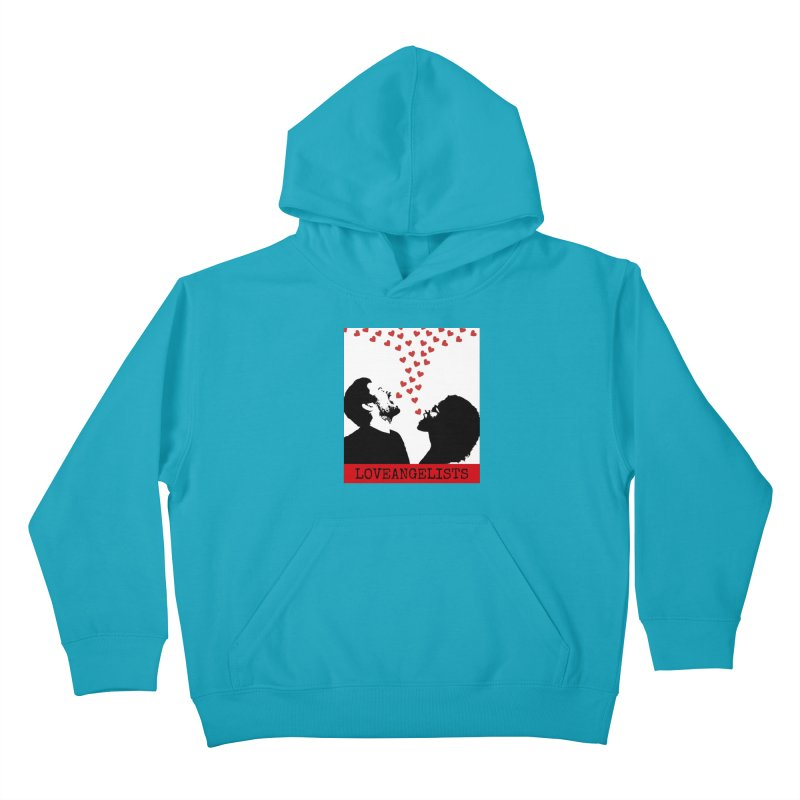 Love Shout Kids Pullover Hoody by Loveangelists Swag