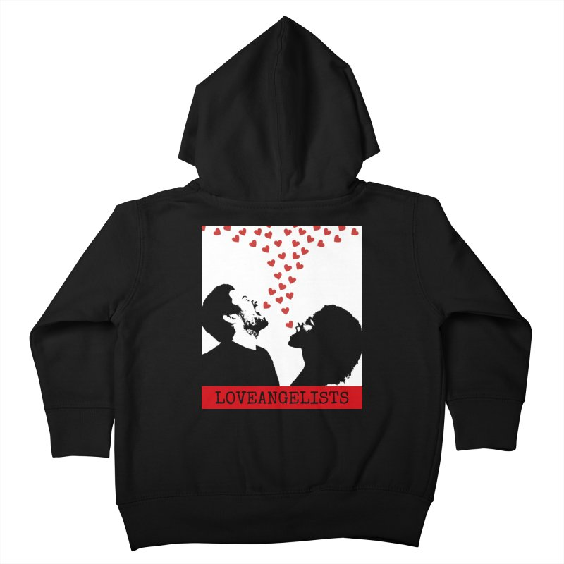 Love Shout Kids Toddler Zip-Up Hoody by Loveangelists Swag