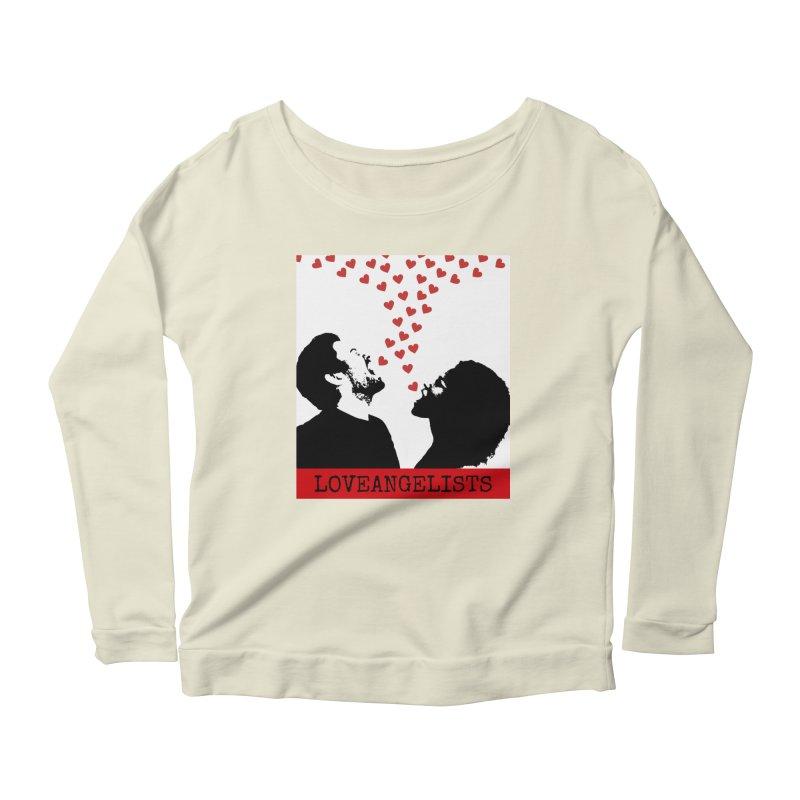 Love Shout Women's Scoop Neck Longsleeve T-Shirt by Loveangelists Swag