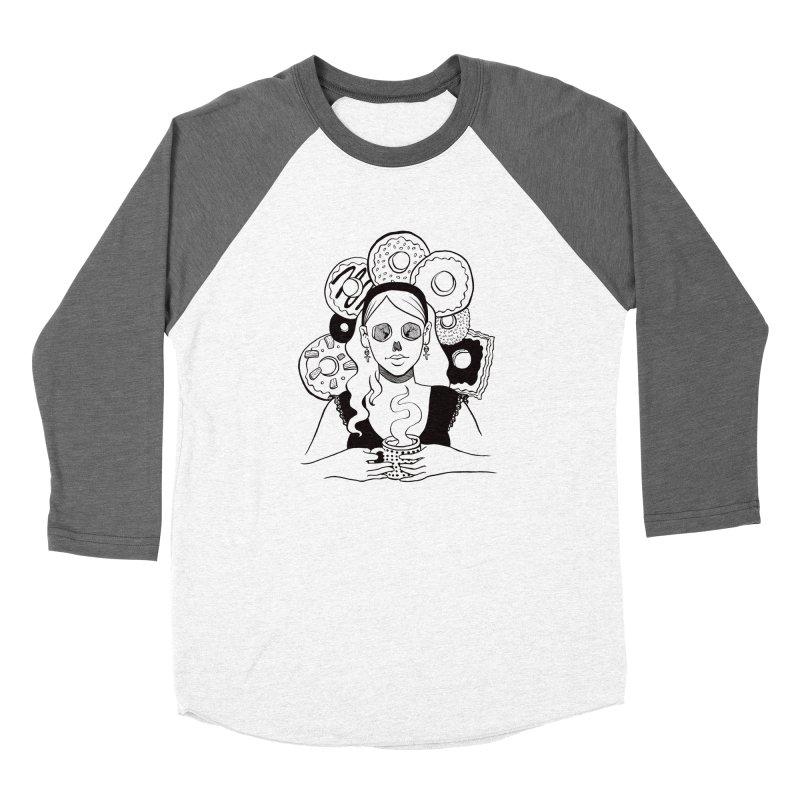 Death 'n' Donuts Women's Longsleeve T-Shirt by Melisa Des Rosiers Artist Shop