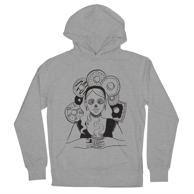 Death 'n' Donuts Men's Pullover Hoody by Love for Ink Artist Shop