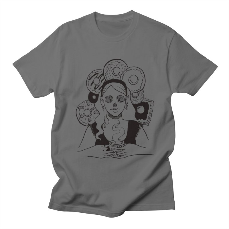 Death 'n' Donuts Women's Unisex T-Shirt by Love for Ink Artist Shop