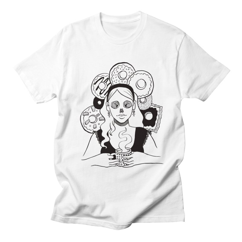 Death 'n' Donuts Men's T-shirt by Love for Ink Artist Shop