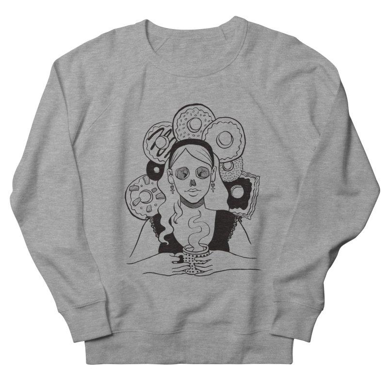 Death 'n' Donuts Men's Sweatshirt by Love for Ink Artist Shop