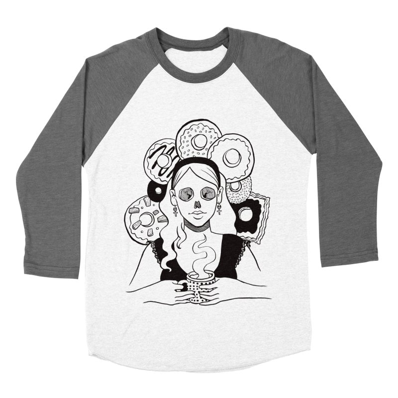 Death 'n' Donuts Women's Baseball Triblend T-Shirt by Love for Ink Artist Shop