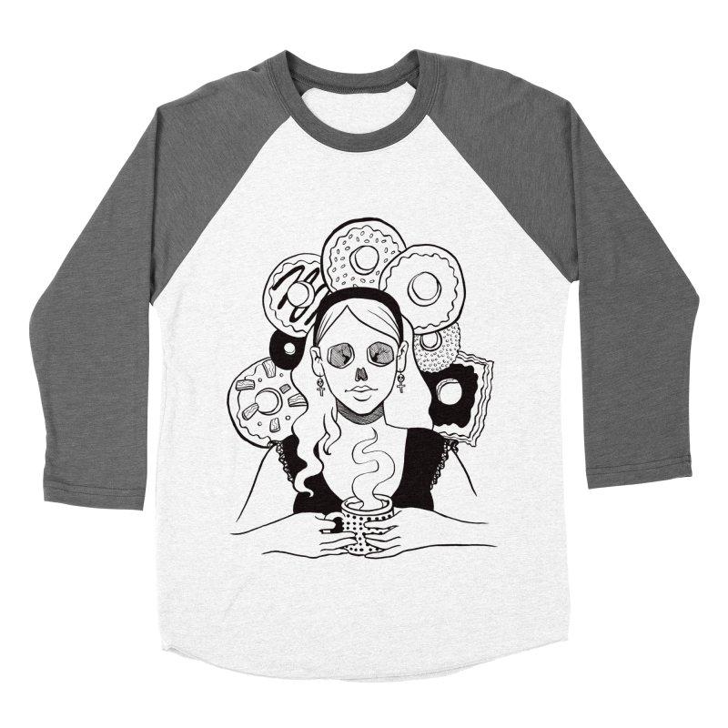 Death 'n' Donuts Men's Baseball Triblend T-Shirt by Love for Ink Artist Shop