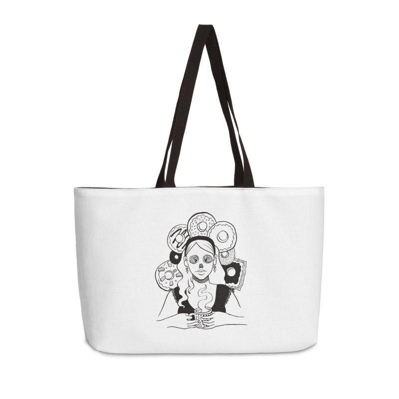 Death 'n' Donuts Accessories Weekender Bag Bag by Melisa Des Rosiers Artist Shop