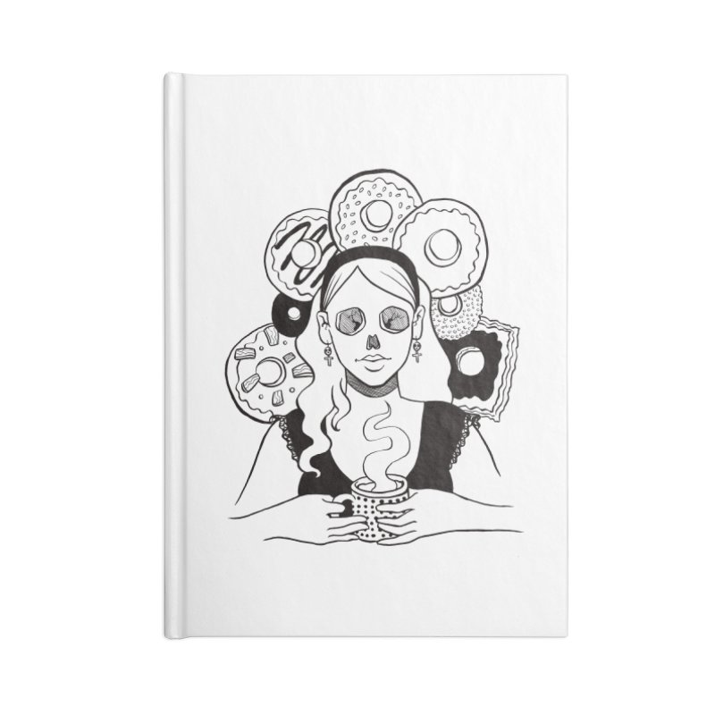 Death 'n' Donuts Accessories Notebook by Love for Ink Artist Shop