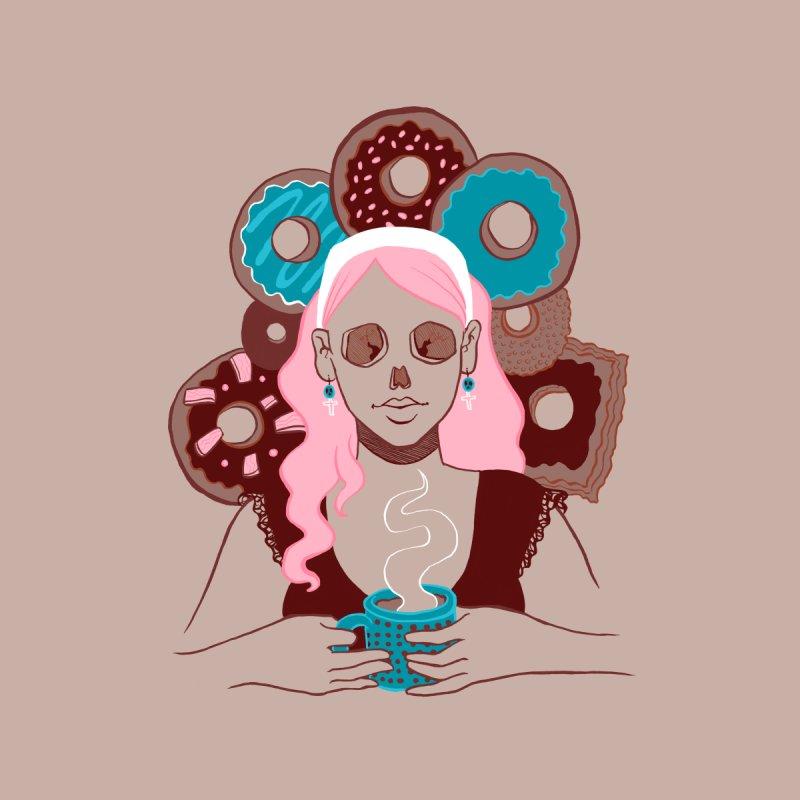 Death 'n' Donuts Color Men's Tank by Melisa Des Rosiers Artist Shop