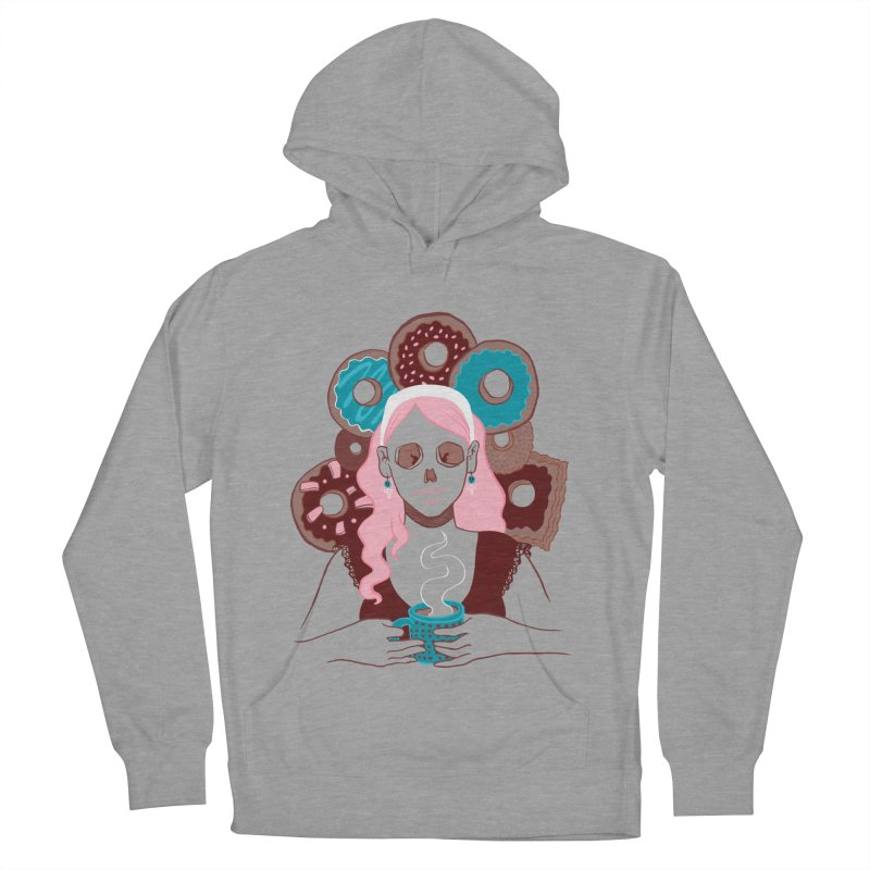 Death 'n' Donuts Color Men's Pullover Hoody by Love for Ink Artist Shop