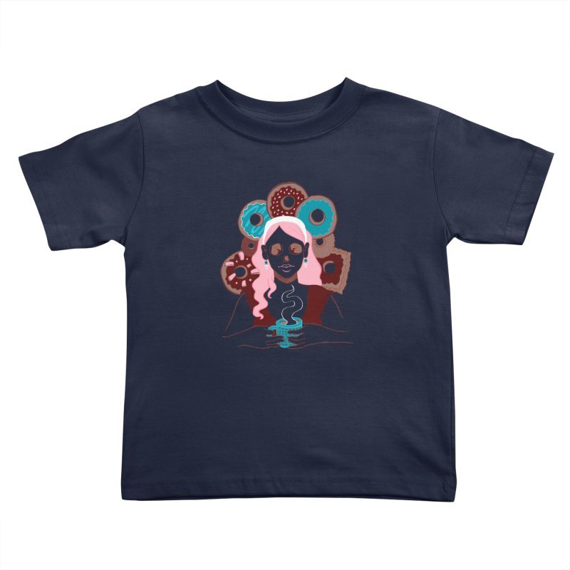 Death 'n' Donuts Color Kids Toddler T-Shirt by Love for Ink Artist Shop