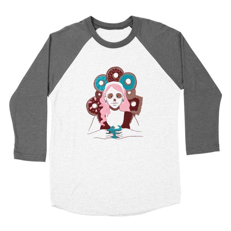 Death 'n' Donuts Color Women's Longsleeve T-Shirt by Melisa Des Rosiers Artist Shop