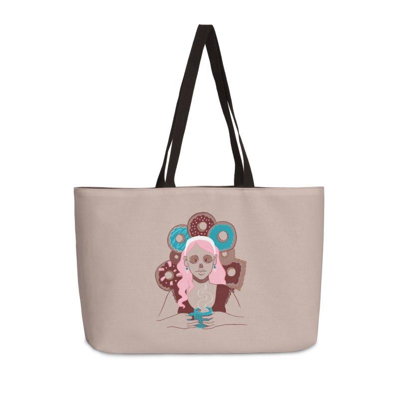 Death 'n' Donuts Color Accessories Weekender Bag Bag by Melisa Des Rosiers Artist Shop