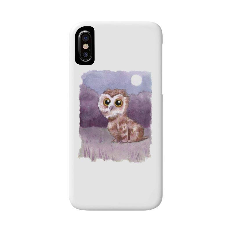 Owlbear Baby Accessories Phone Case by Melisa Des Rosiers Artist Shop