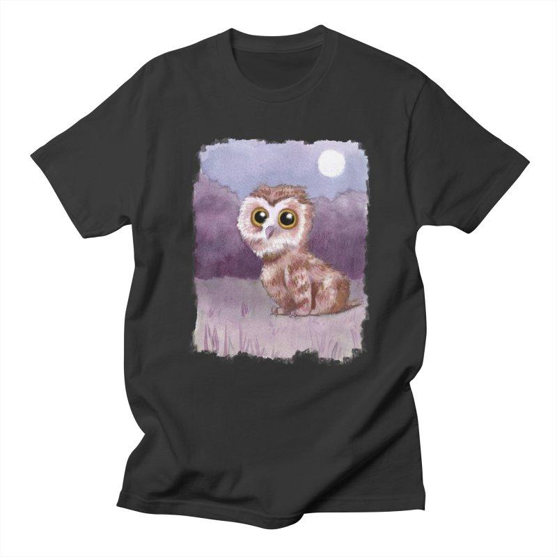 Owlbear Baby Men's Regular T-Shirt by Melisa Des Rosiers Artist Shop