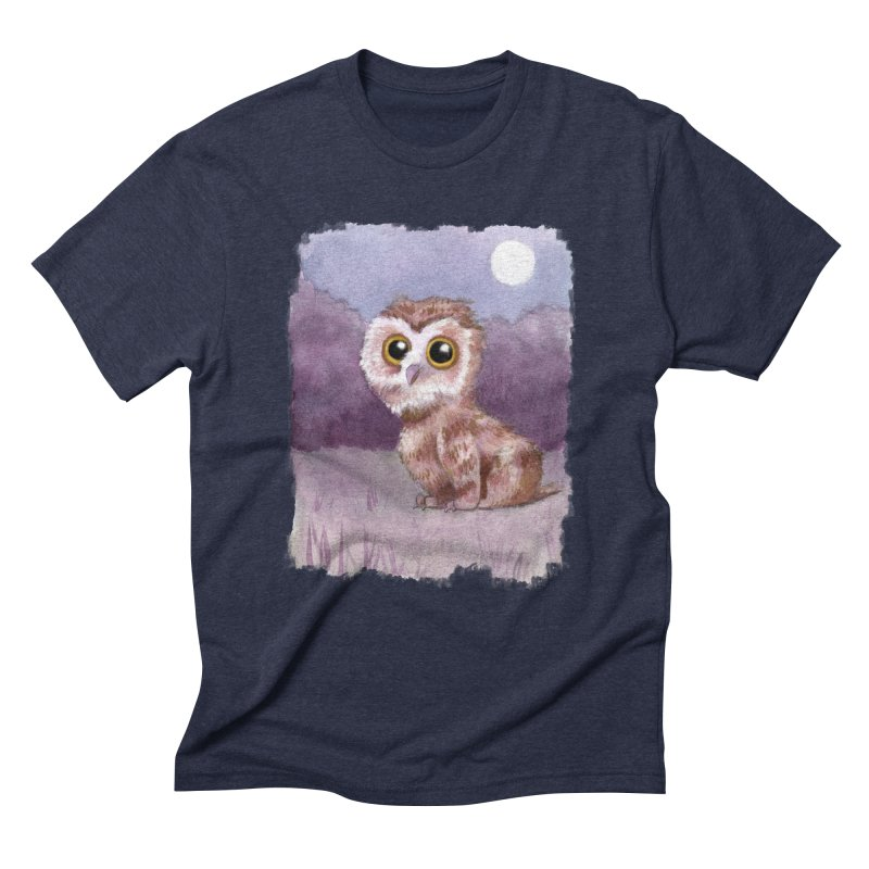 Owlbear Baby Men's Triblend T-shirt by Love for Ink Artist Shop