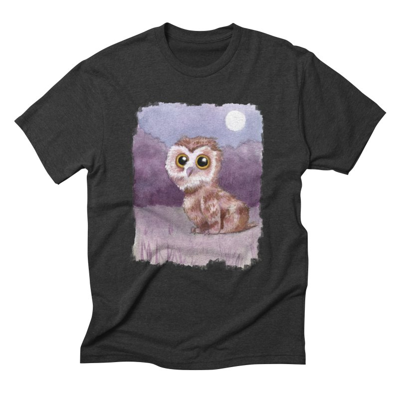 Owlbear Baby Men's Triblend T-Shirt by Melisa Des Rosiers Artist Shop