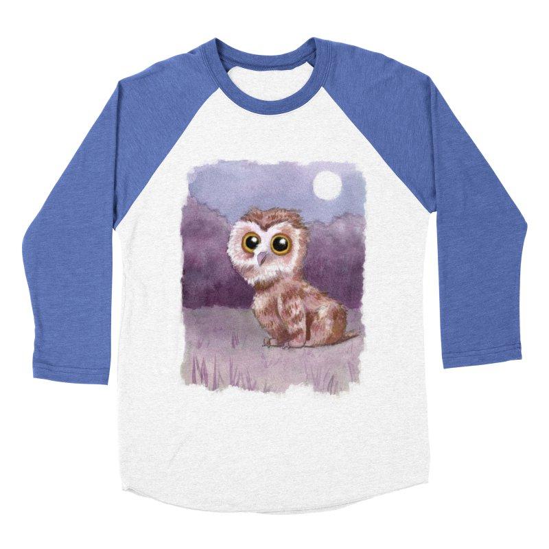 Owlbear Baby Women's Baseball Triblend T-Shirt by Love for Ink Artist Shop
