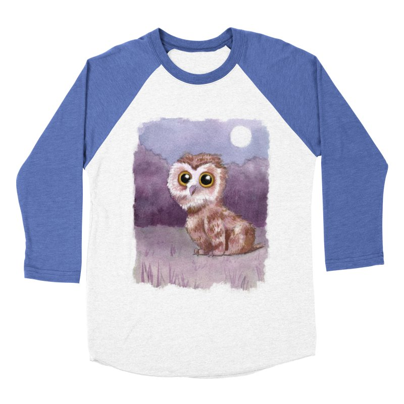 Owlbear Baby Men's Baseball Triblend T-Shirt by Love for Ink Artist Shop