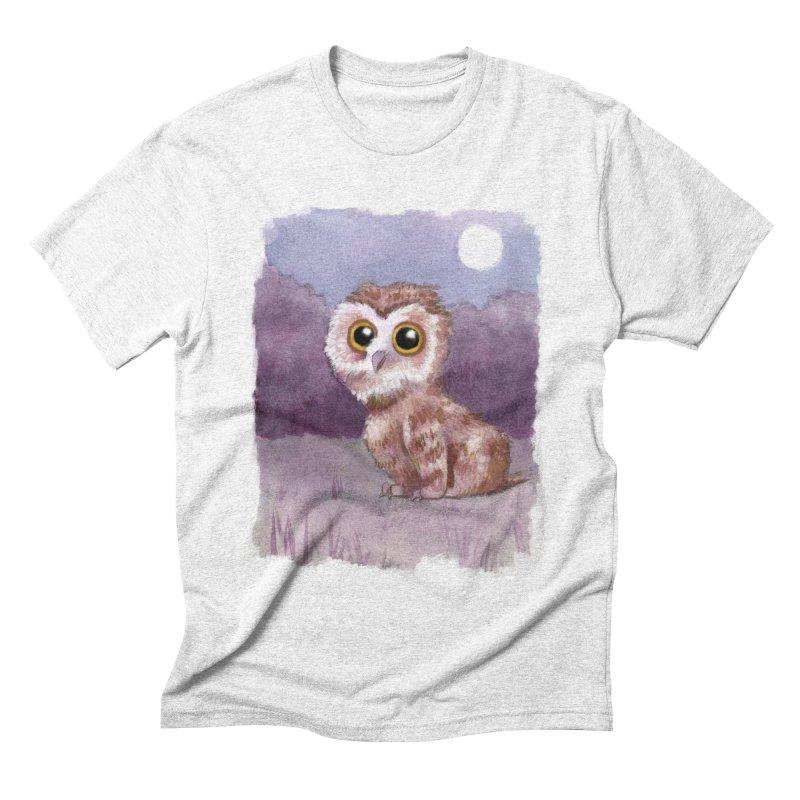 Owlbear Baby Men's Triblend T-shirt by Love for Ink Artist Shop