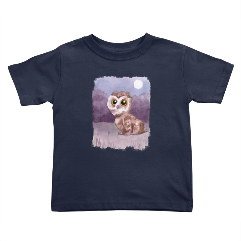 Owlbear Baby Kids Toddler T-Shirt by Melisa Des Rosiers Artist Shop
