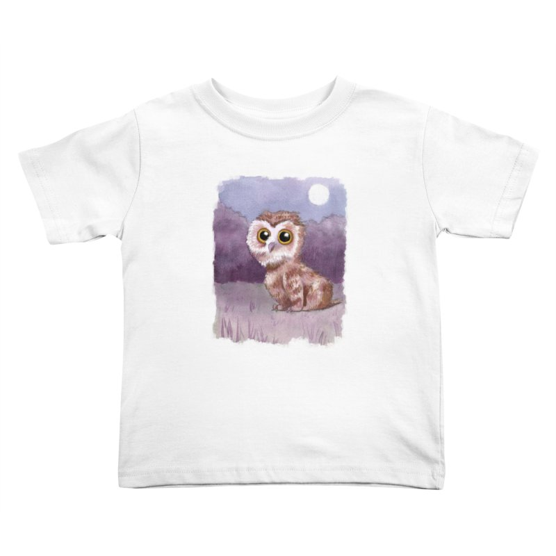 Owlbear Baby Kids Toddler T-Shirt by Love for Ink Artist Shop
