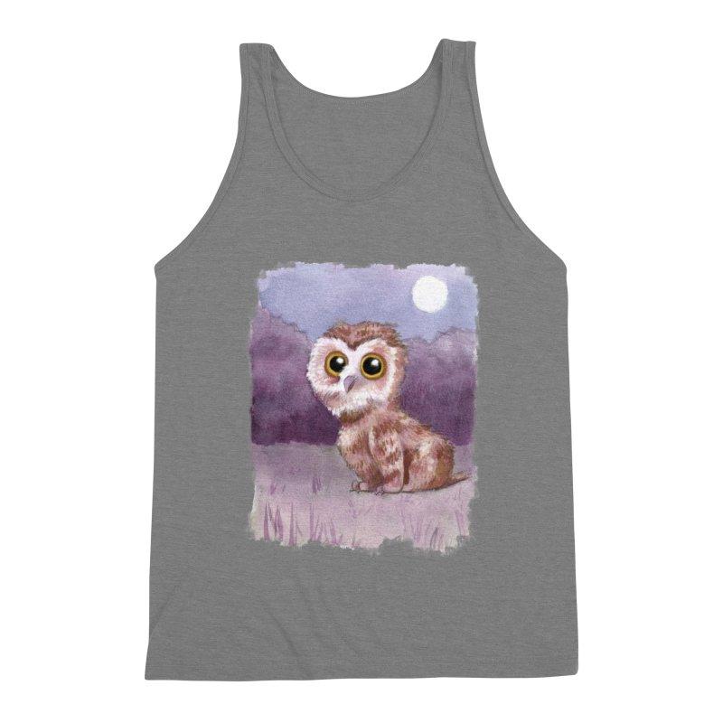 Owlbear Baby Men's Tank by Melisa Des Rosiers Artist Shop