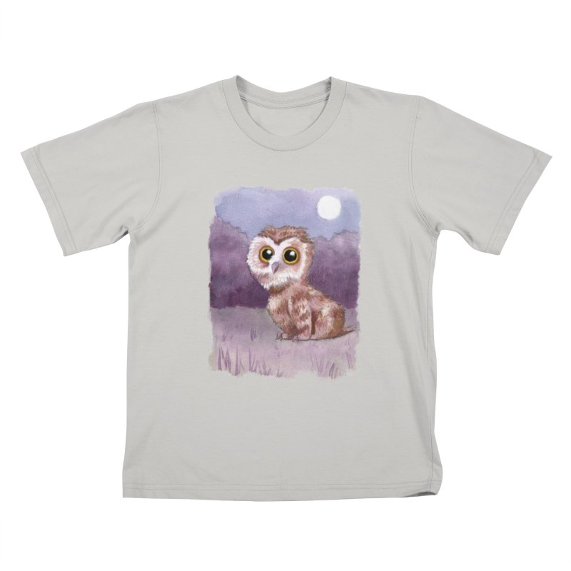 Owlbear Baby Kids T-shirt by Love for Ink Artist Shop