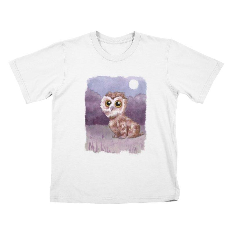 Owlbear Baby Kids T-Shirt by Melisa Des Rosiers Artist Shop