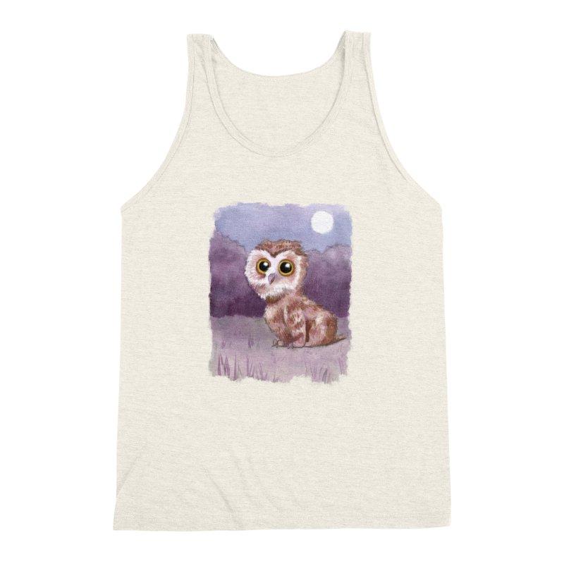 Owlbear Baby Men's Triblend Tank by Love for Ink Artist Shop