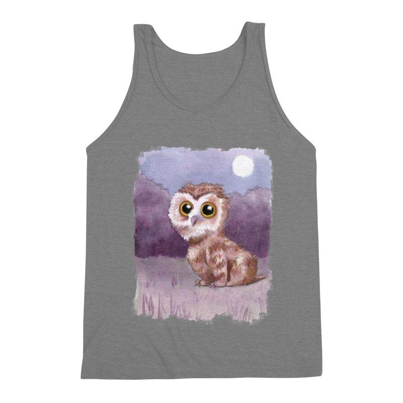 Owlbear Baby Men's Triblend Tank by Melisa Des Rosiers Artist Shop