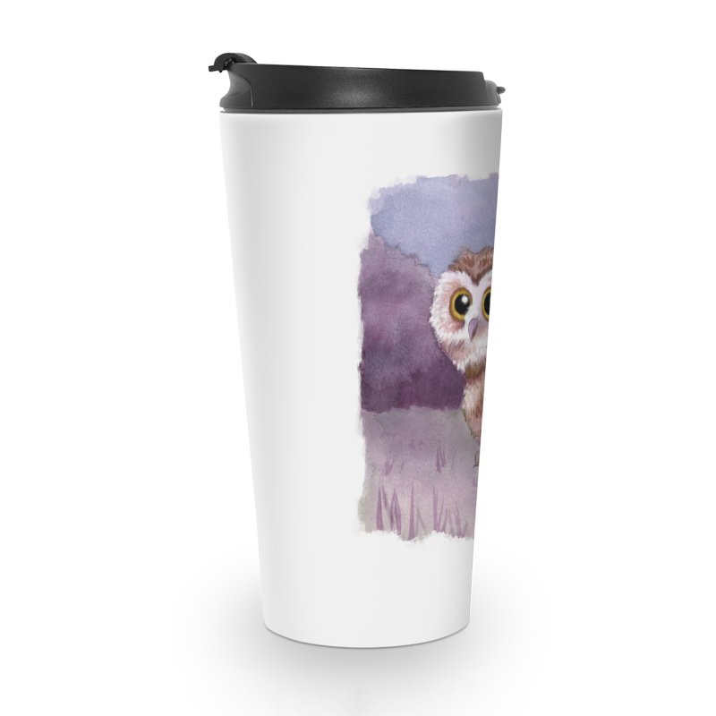 Owlbear Baby Accessories Travel Mug by Melisa Des Rosiers Artist Shop