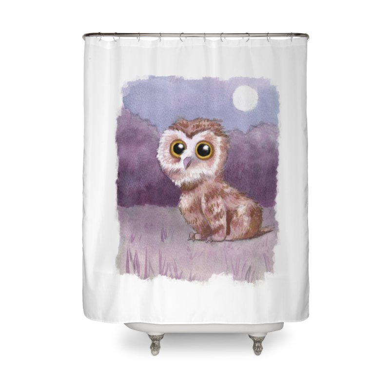 Owlbear Baby Home Shower Curtain by Melisa Des Rosiers Artist Shop