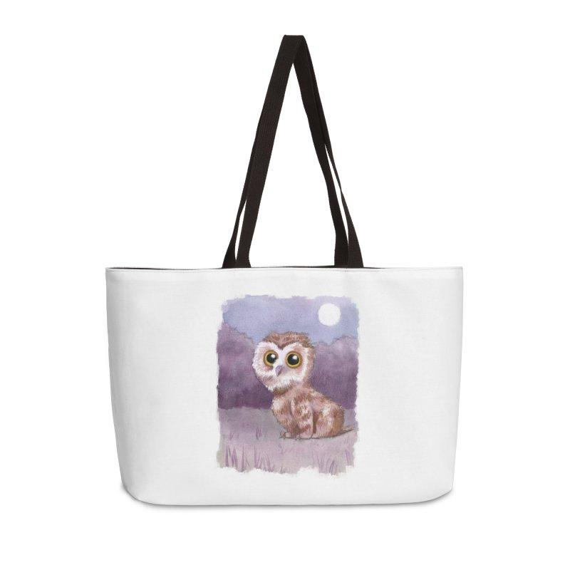 Owlbear Baby Accessories Weekender Bag Bag by Melisa Des Rosiers Artist Shop