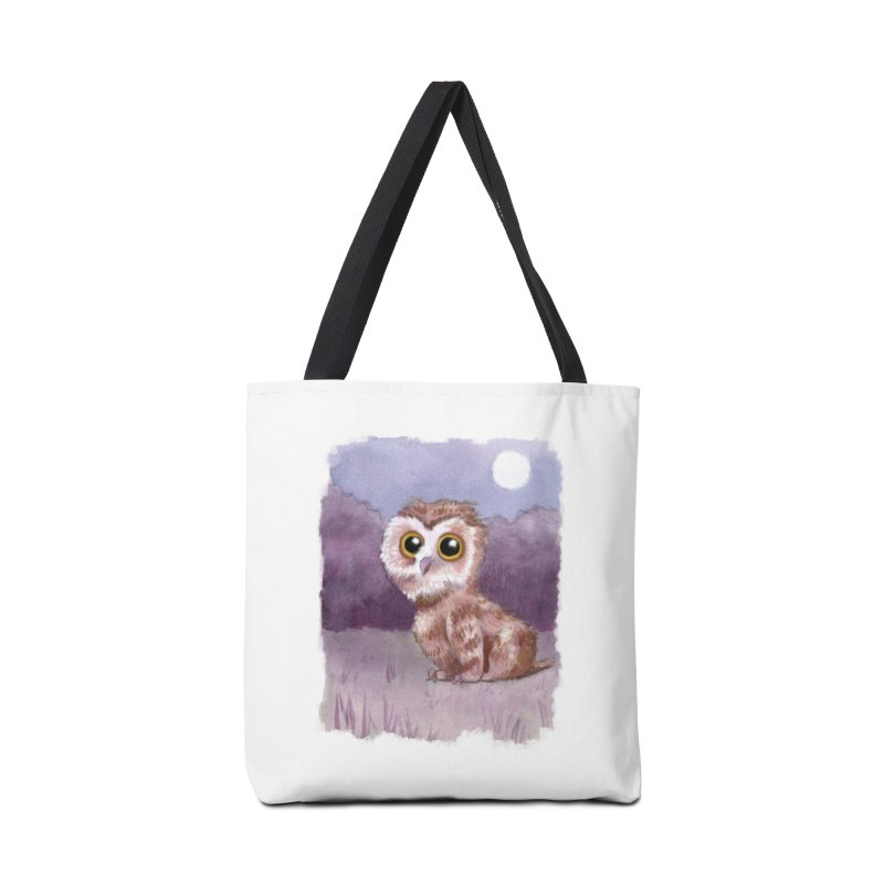 Owlbear Baby Accessories Tote Bag Bag by Melisa Des Rosiers Artist Shop