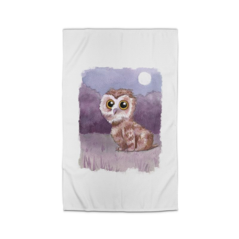 Owlbear Baby Home Rug by Melisa Des Rosiers Artist Shop