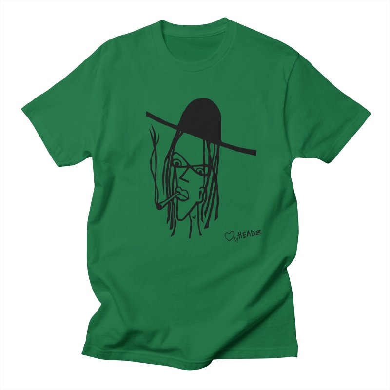 The Smoking Dude Men's T-Shirt by LovelyHeadz
