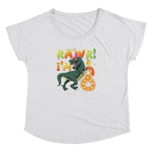 Dinosaur Birthday Shirt 8 Years Old R