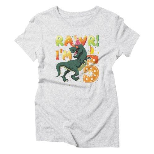 Dinosaur Birthday Shirt 5 Years Old R