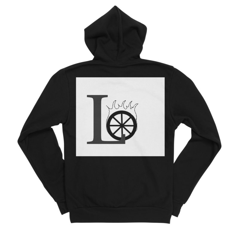 Lo Women's Sponge Fleece Zip-Up Hoody by loveunbroken's Artist Shop