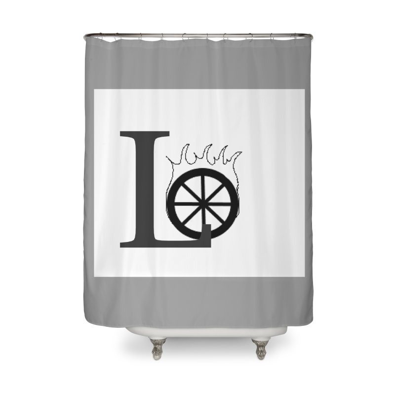 Lo Home Shower Curtain by loveunbroken's Artist Shop
