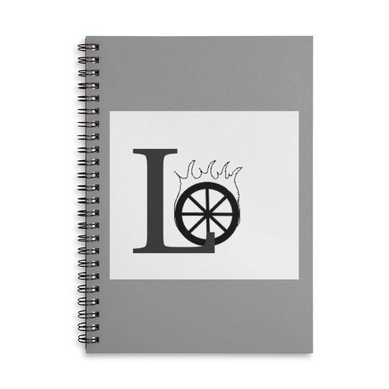 Lo Accessories Lined Spiral Notebook by loveunbroken's Artist Shop