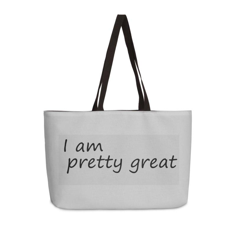 pretty great Accessories Weekender Bag Bag by loveunbroken's Artist Shop