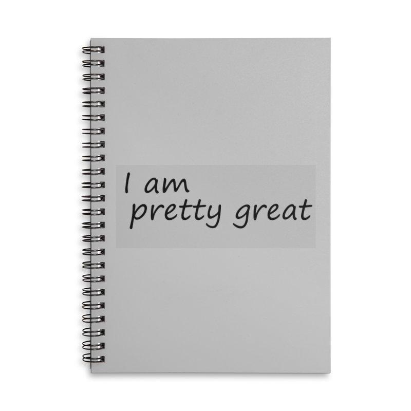 pretty great Accessories Lined Spiral Notebook by loveunbroken's Artist Shop