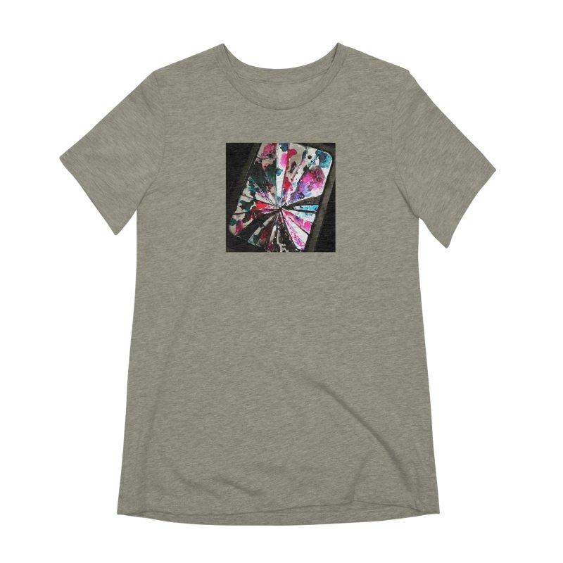shattered sight Women's Extra Soft T-Shirt by loveunbroken's Artist Shop