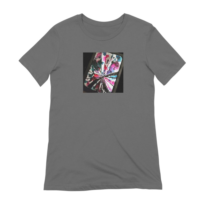 shattered sight Women's Extra Soft T-Shirt by loveunbroken's Artist Shop