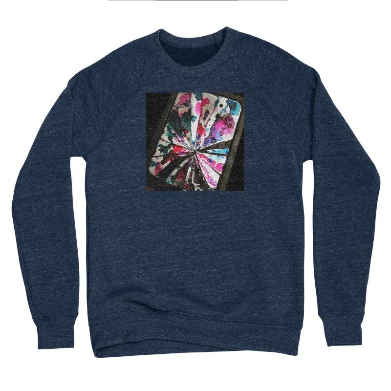 shattered sight Men's Sponge Fleece Sweatshirt by loveunbroken's Artist Shop
