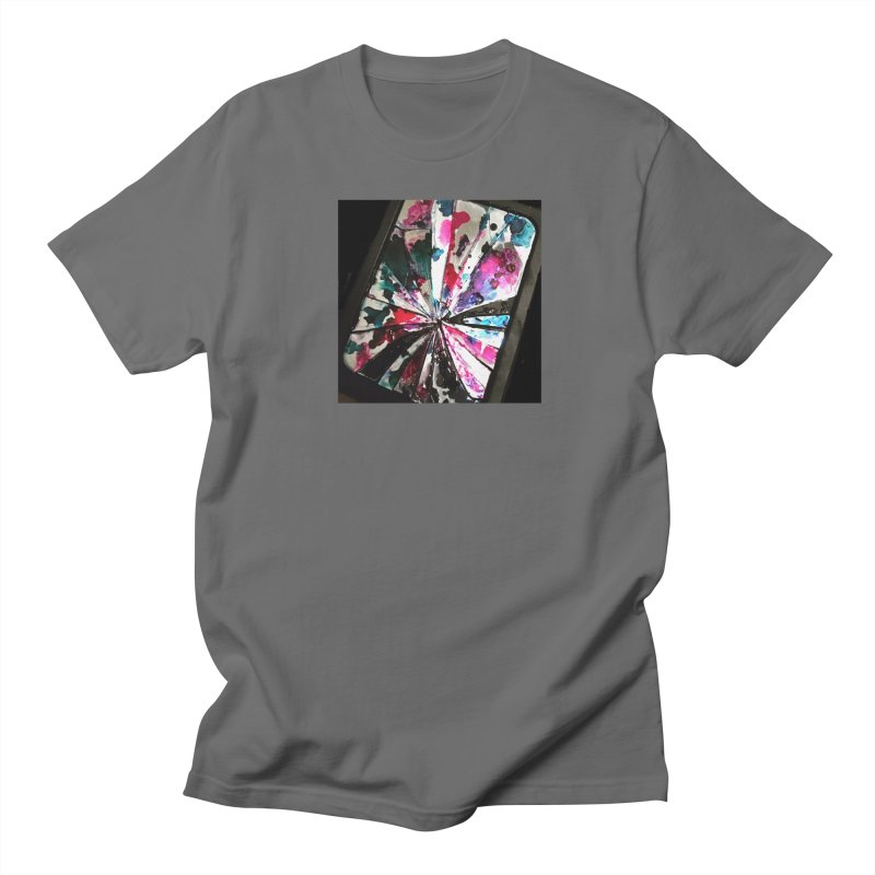 shattered sight Men's T-Shirt by loveunbroken's Artist Shop