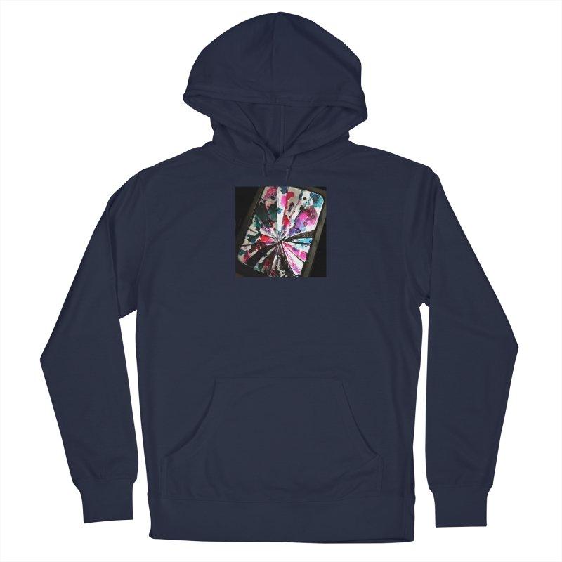 shattered sight Men's Pullover Hoody by loveunbroken's Artist Shop