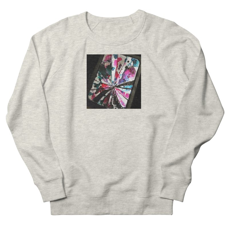 shattered sight Women's French Terry Sweatshirt by loveunbroken's Artist Shop